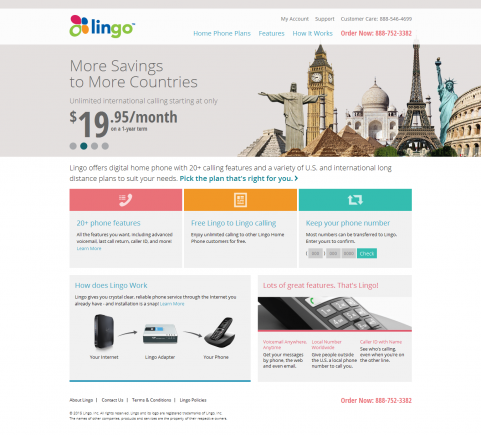 Lingo Website Design & Development